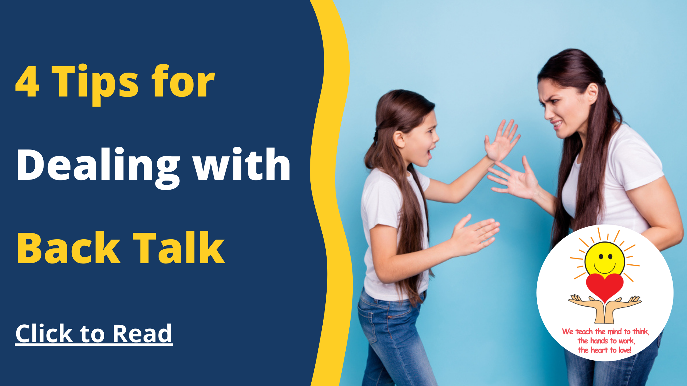 4 Tips for Dealing with Back Talk