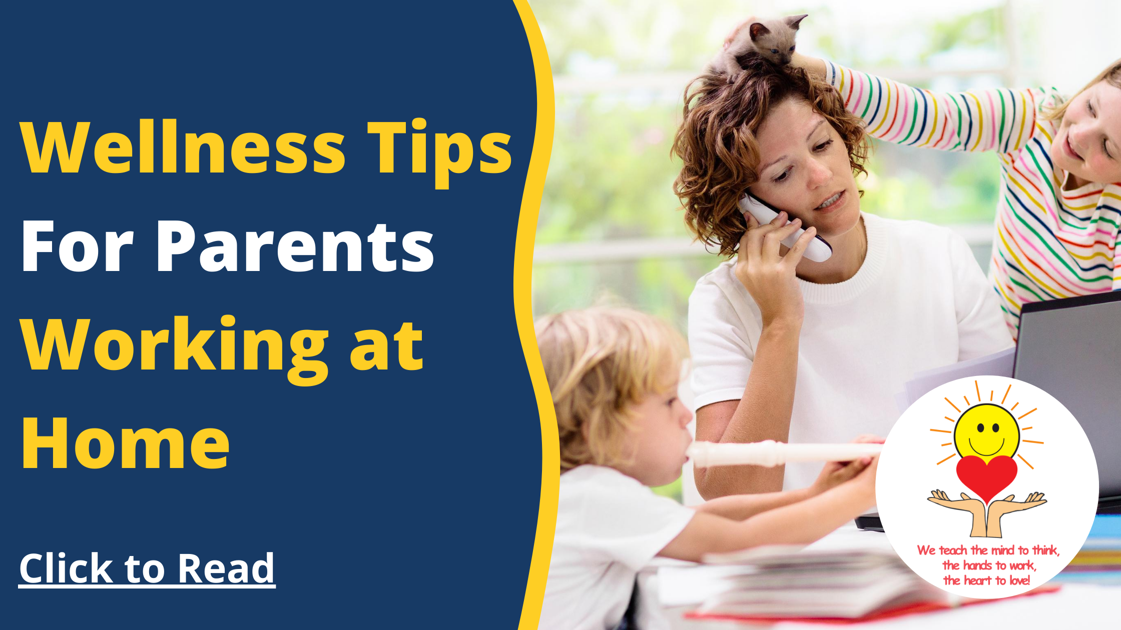 Wellness Tips for Parents Working at Home