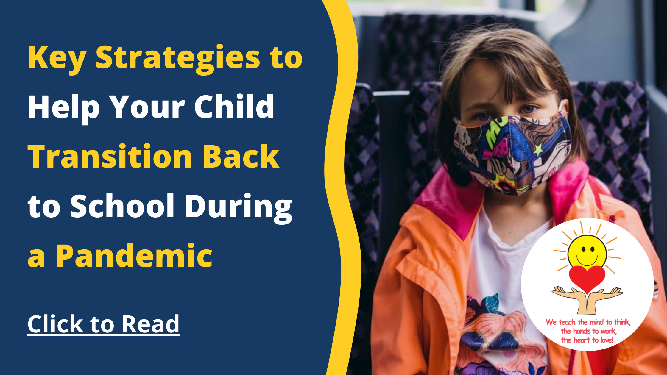 Key Strategies to Help Your Child Transition Back to School During a Pandemic
