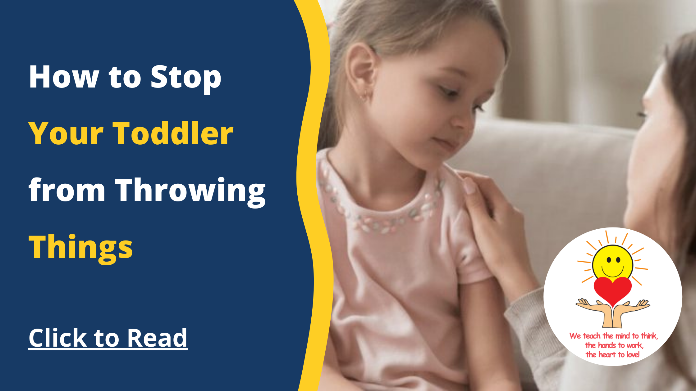 How to Stop Your Toddler from Throwing Things